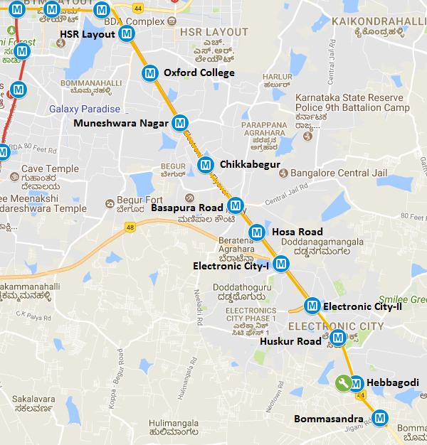 Itd Cem Begins Casting Segments For Bangalore Metro S Line