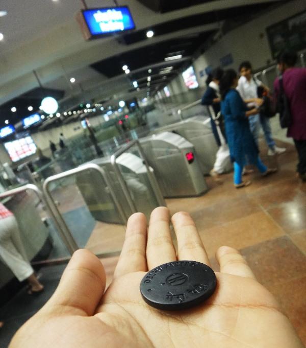 Delhi Metro - photo: indiasaakingmgamata, used under Creative Commons License (By 2.0)