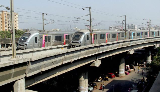 Mumbai Metro - photo: The Hindu, used under Creative Commons License (By 2.0)