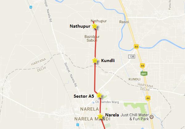 Haryana Govt  Approves Delhi Metro's 4 86 km Extn to Kundli