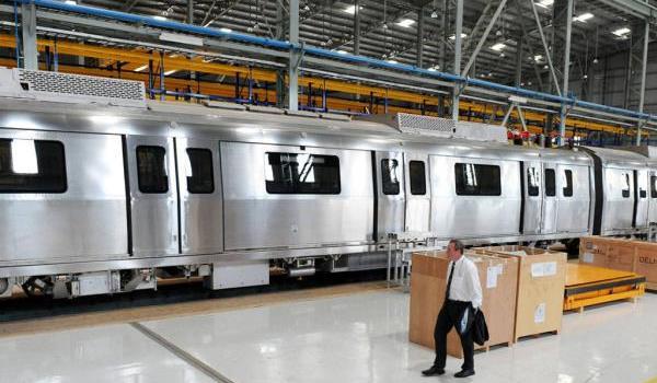 Bombardier's plant at Savli, Gujarat