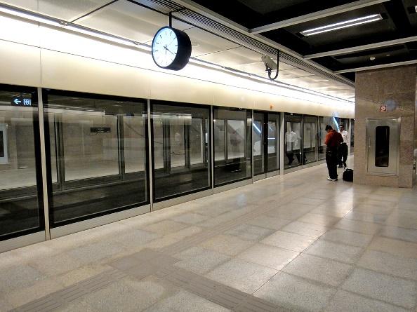 Chennai Metro Begins Installing Platform Screen Doors