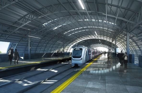 Pics Navi Mumbai's Metro Stations Under Construction ...