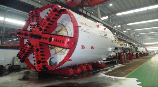 One of the Terratec TBMs used on CC34 - Photo Copyright HCC