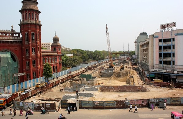 Chennai High Court station - Photo Copyright: Geosmart