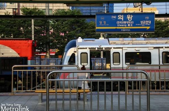 Delhi Metro at Uiwang station - Photo Copyright: Jee Yong Song - view larger image