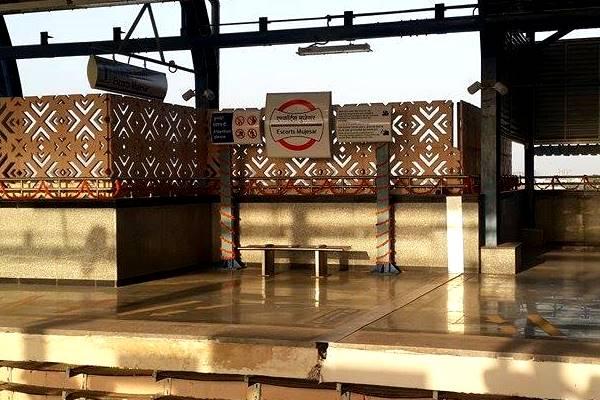 Escorts Mujesar Station - Photo Copyright Fariabad Metro - FB