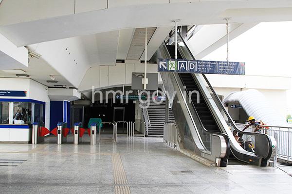 Concourse level