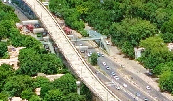 Aerial view - Photo copyright Sudheer Prasad - view full original image