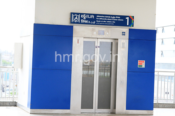 Elevator to the Platform