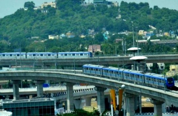 Kathipara Interchange - Photo Copyright: The Hindu
