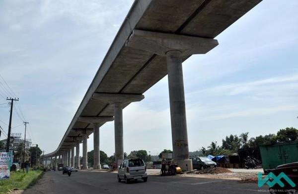 On NH47 - - Photo Copyright: Kochi Metro Rail