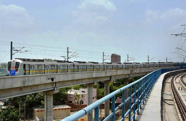 A trial in progress on the Jahangirpuri - Samaypur Badli line - Photo Copyright: eprahaar