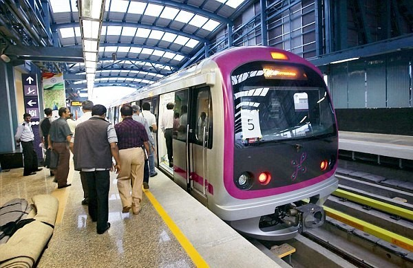 Bangalore Metro - Photo Copyright: Daily Mail