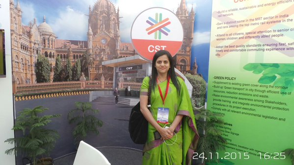 MMRC's MD Ashwini Bhide - Photo Copyright: MMRC