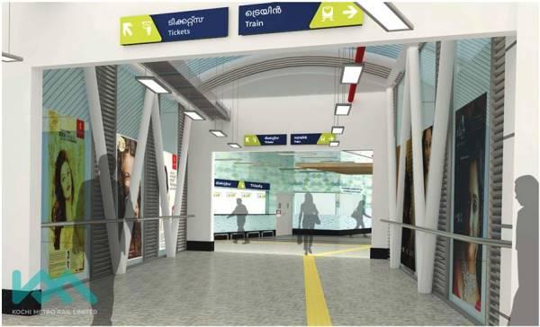 Souce: Kochi Metro Rail