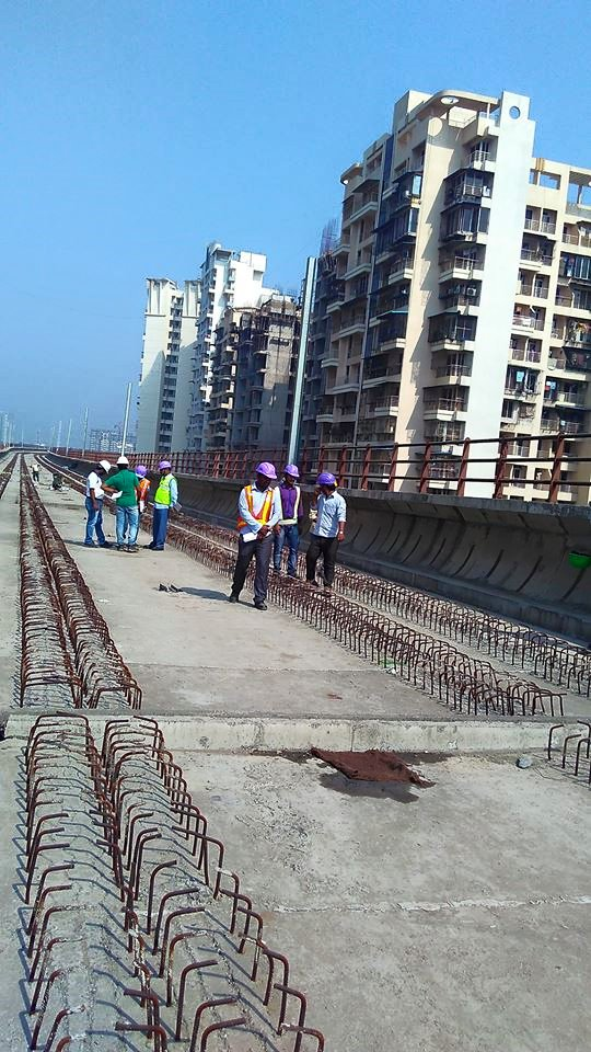 Track work is yet to begin at Khargar - Photo Copyright: Nitin Sargar