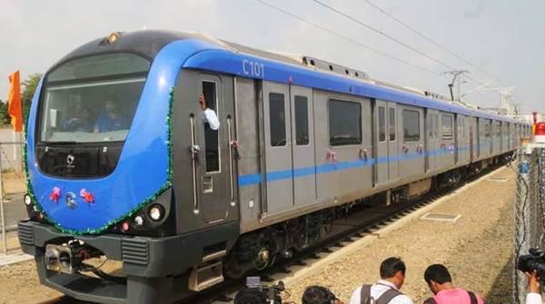 Chennai Metro - Photo Copyright: Financial Express