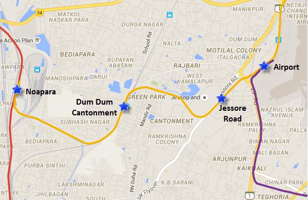 KolkataMetroMap