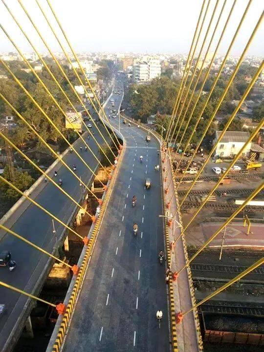 Ram Jhula bridge - Photo Copyright: Sathyapal Nayar