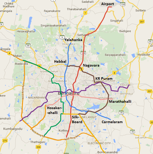 BMRCL Presents Bangalore Metro's 102 km Phase 3 to MoUD   The