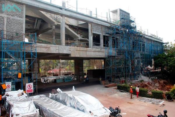 Pics Progress of Kochi Metro's CUSAT Station - May 2016 ...