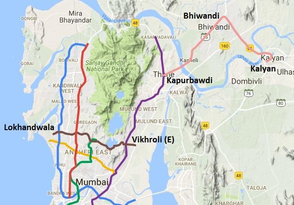 Mumbai Subway Map.Mmrda Approves Mumbai Metro S Line 5 And Line 6 The Metro Rail Guy