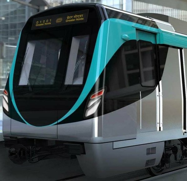 Closer look of its face - Source: Noida Metro