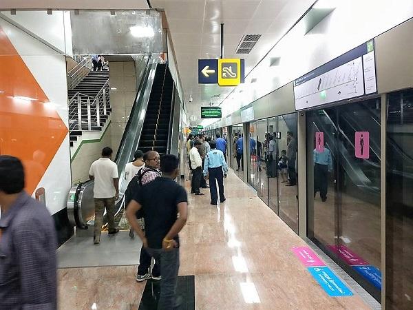 Chennai Metro S 8 Km Koyambedu Nehru Park Section